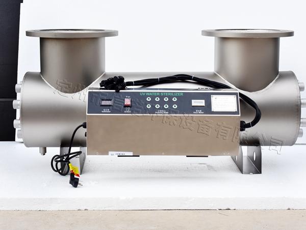 8支120W灯管 新款机箱喷砂法兰上开 口径DN150